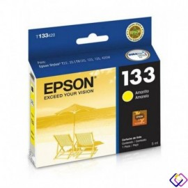Cartuchos Epson T133 Yellow