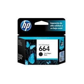 Cartuchos Hewlett Packard 664 Negro