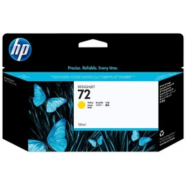 Cartuchos Hewlett Packard 72 Yellow