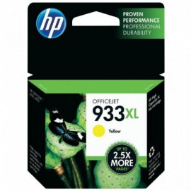 Cartuchos Hewlett Packard 933XL Yellow