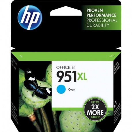 Cartuchos Hewlett Packard 951 XL Cyan