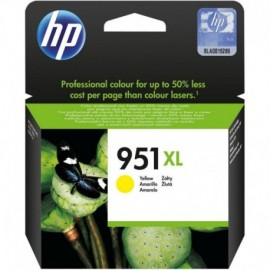Cartuchos Hewlett Packard 951 XL Yellow
