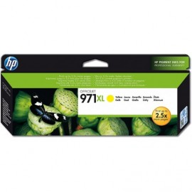 Cartuchos Hewlett Packard 971 XL Yellow
