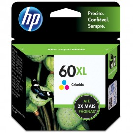 Cartuchos Hewlett Packard 60XL Color Alto Rendimiento