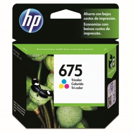 Cartuchos Hewlett Packard 675 Color
