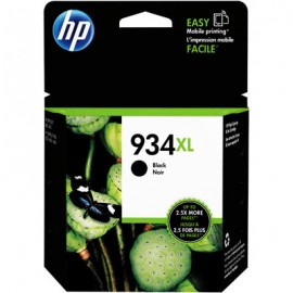 Cartuchos Hewlett Packard 934 XL Negro