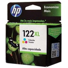 Cartuchos Hewlett Packard 122XL Color Alto Rendimiento