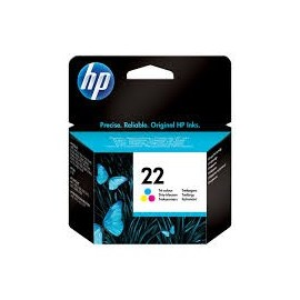 Cartuchos Hewlett Packard 22 Color