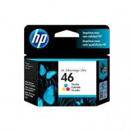 Cartuchos Hewlett Packard 46 Color ULTRA