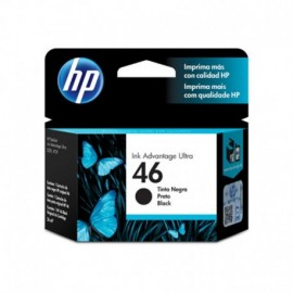 CARTUCHO Hewlett Packard 46 NEGRO ULTRA