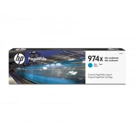 Cartucho Hewlett Packard 974XL CYAN