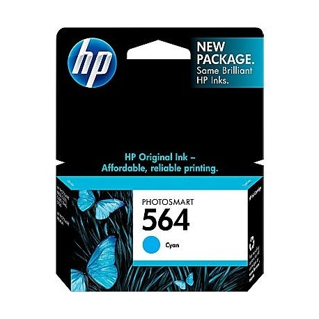 Cartuchos Hewlett Packard 564 Cyan