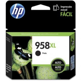Cartucho Hewlett Packard 958 XL Negro