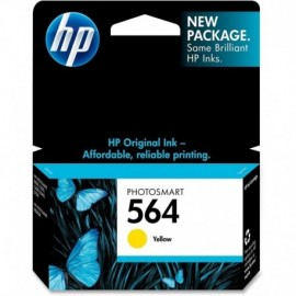 Cartuchos Hewlett Packard 564 Yellow