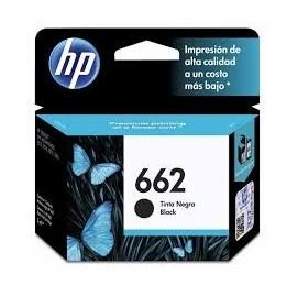 Cartuchos Hewlett Packard 662 Negro