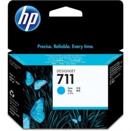Cartuchos Hewlett Packard 711 Cyan