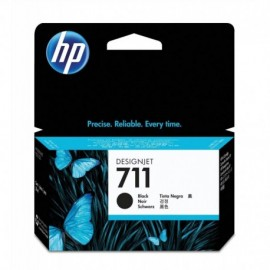 Cartuchos Hewlett Packard 711 Negro 38ml